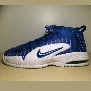 Nike air max Penny 1 pinstripe basketball shoes